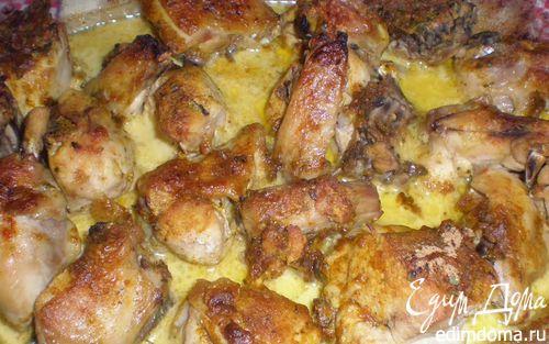 Рецепт Курочка в ароматном нежном соусе