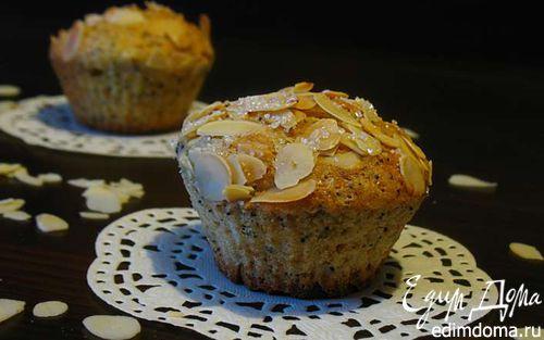 Рецепт Лимонно-маковый кекс с миндалем