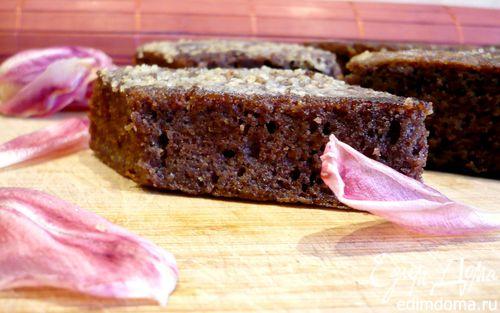Рецепт Пряное пирожное с карамельной корочкой «Чай с молоком»