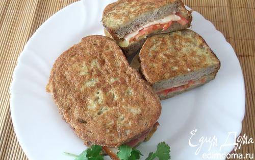 Рецепт Быстрый бутерброд в кляре