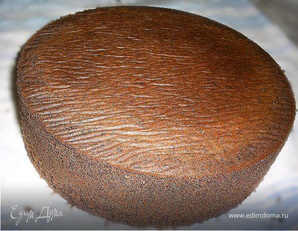 Изумительный шоколадный бисквит