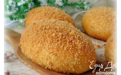 Рецепт Пироги с черемуховой начинкой