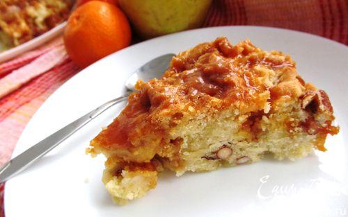 Рецепт Божественный яблочный пирог из Британской Колумбии