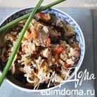 Трехцветный рис с уткой