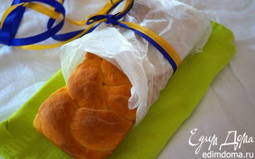 Рецепт Сдобный хлеб в молоке (Українські страви)