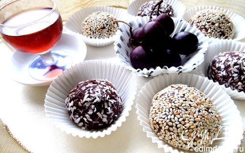 Рецепт Шоколадные пирожные с фруктами