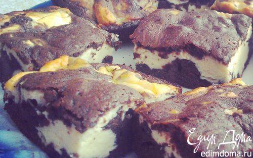 Рецепт Чизкейк Брауни (Cheesecake Brownies)
