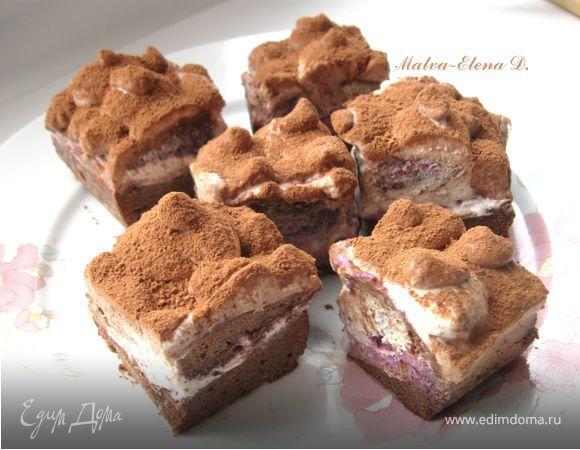Пирожное «Шоколадная нежность Янчи»