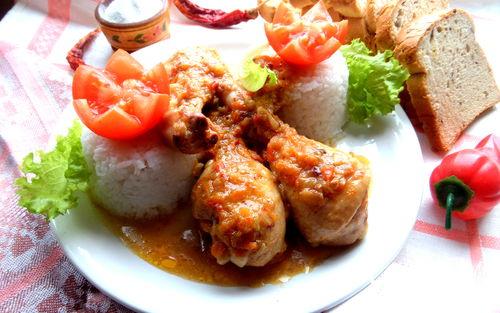 Рецепт Куриные ножки в домашней аджике