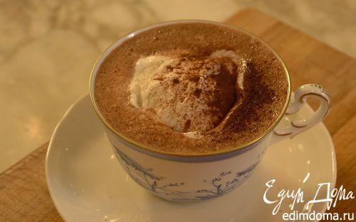 Горячий шоколад на сливках