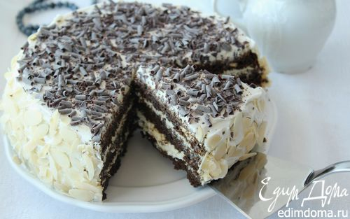 Рецепт Черемуховый торт в мультиварке