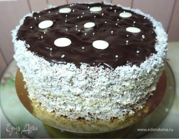"""Торт медовый с черносливом """"Особенный"""""""
