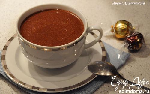 Рецепт Горячий шоколад с медом и корицей