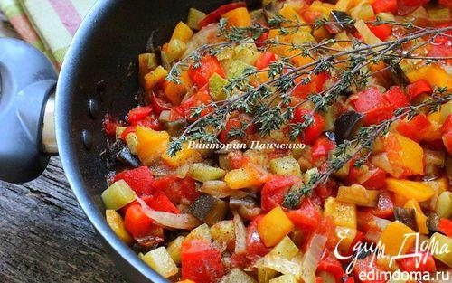 Рецепт Овощное рагу Писто манчего (Pisto manchego)