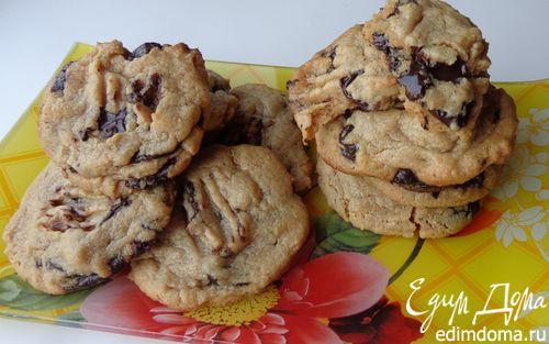 Рецепт Шоколадное печенье на арахисовой пасте