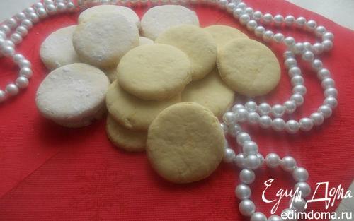 Рецепт Лимонное печенье (постное)