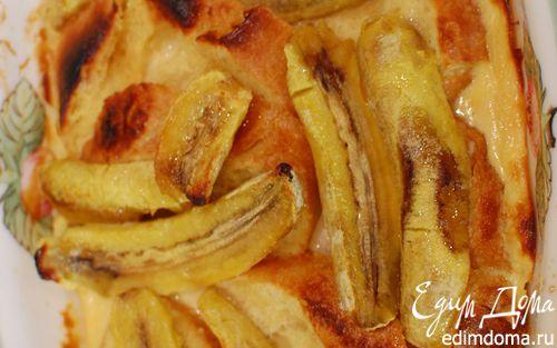 Рецепт Французские гренки с бананами и карамельным соусом