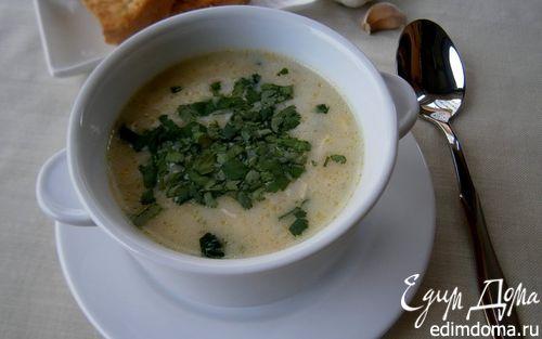 Рецепт Суп с рисом в индийском стиле