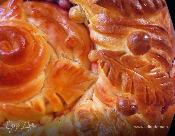 Пасхальный пирог (фигурная выпечка)