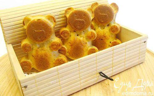 Рецепт Кексы мишки