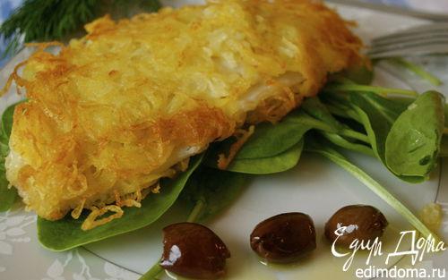 Рецепт Рыбка в картофельной корочке