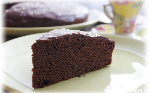 Рецепт Шоколадный кекс на кокосовом молоке