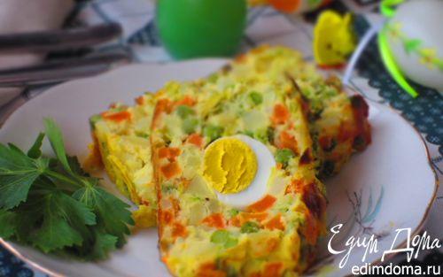 Рецепт Овощной террин с яйцом