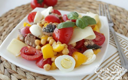 салат с тунцом и перепелиными яйцами рецепты