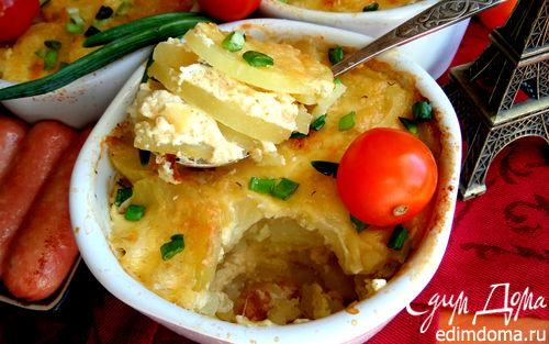 Рецепт Картофель по-французски (au gratin)