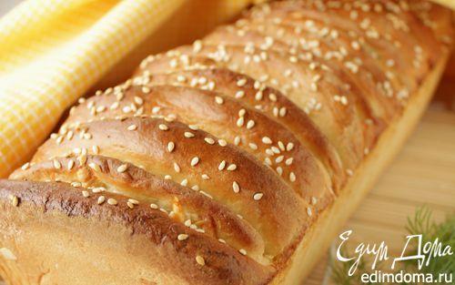 Рецепт Хлеб с сыром и укропом