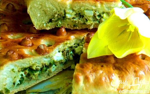 Рецепт Пирог с рыбкой и яйцом