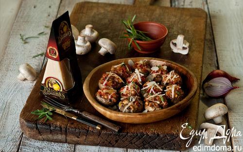 Рецепт Грибы, запеченные с перцем и миндалем