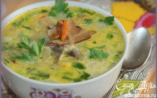 Рецепт Суп из сушеных грибов