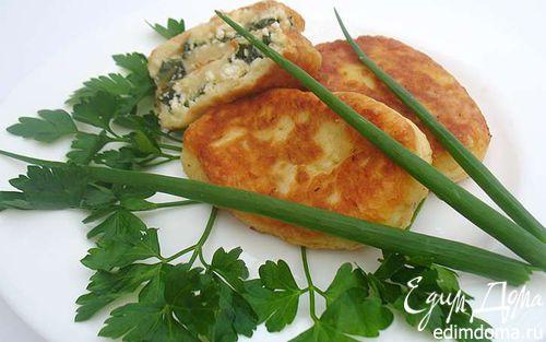 Рецепт Заварные картофельные пирожки с начинкой