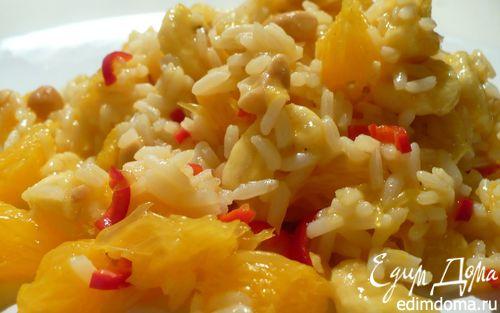 """Рецепт Рис с арахисом """"Завтрак на Бали"""""""