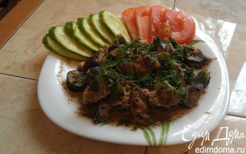 Рецепт Рагу из конины с баклажанами