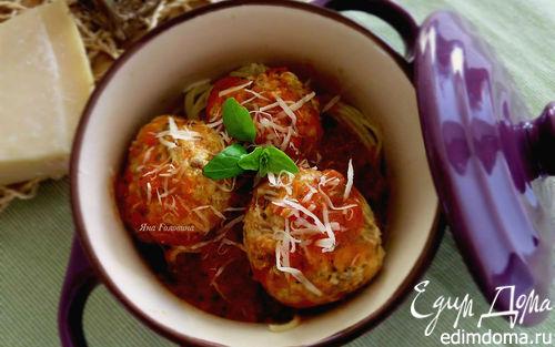 Рецепт Тефтели индюшиные с грибами