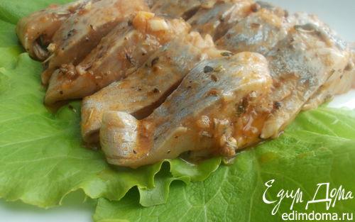 Рецепт Маринованная сельдь с пряностями