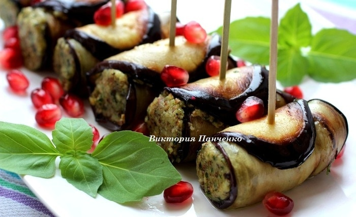 Баклажаны грецким орехом рецепты фото