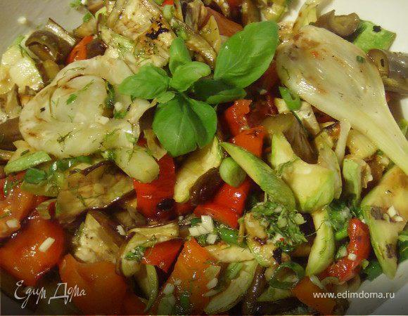 """Гриль-салат """"Летние овощи"""""""