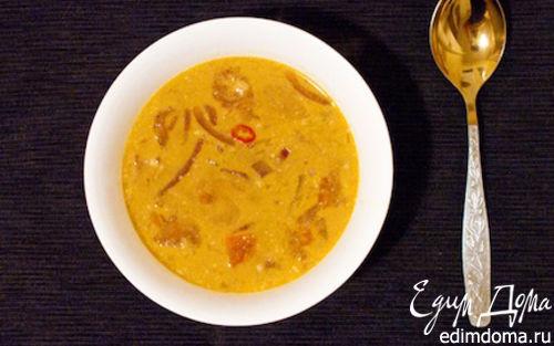 Рецепт Экзотический азиатский суп
