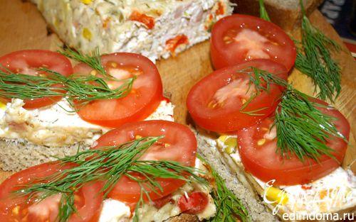 Рецепт Миндально-куриный хлеб с овощами