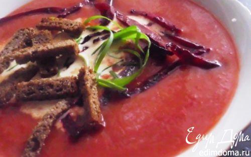 Рецепт Овощной крем-борщ