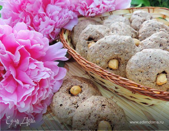Шоколадно-ореховое печенье (без муки)