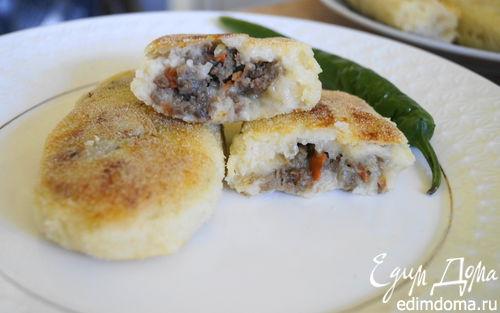 Рецепт Картофельные зразы с острой мясной начинкой