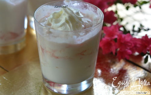 Рецепт Английский десерт с ревенем