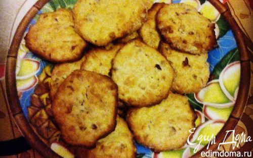 Рецепт Овсяное печенье с орешками и медом