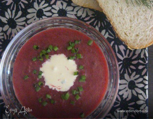 Свекольно-цитрусовый суп