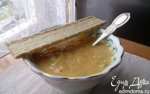 Рецепт Крем-суп с красной чечевицей и кукурузой