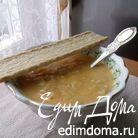 Крем-суп с красной чечевицей и кукурузой